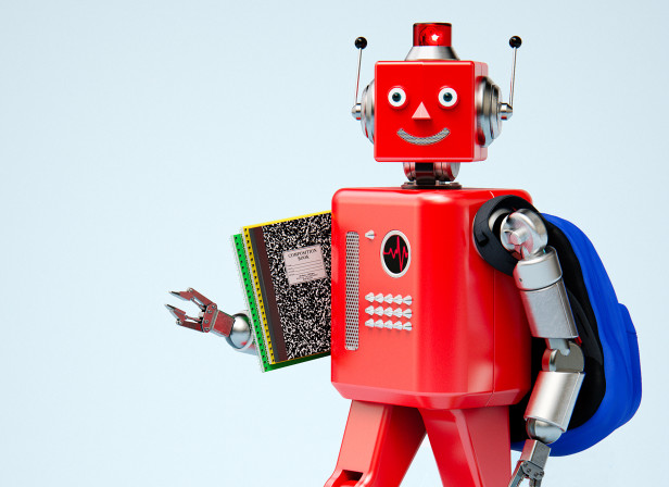 Cover Retro Robot Toy School Cincinnati Magazine