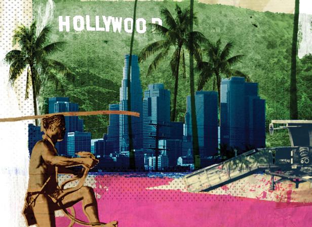 Portrait of a City LA Hollywood BA High Life