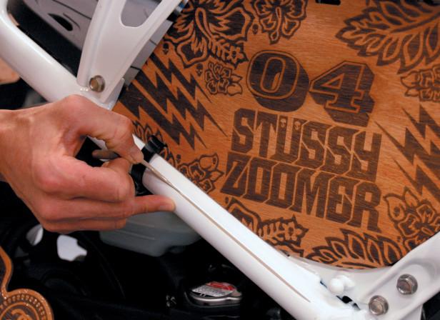 Stussy Honda Zoomer