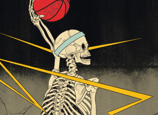 The Skull of Basketball