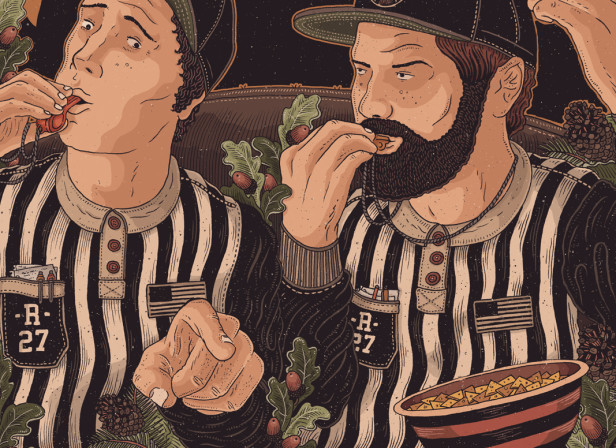 Refs and Stripes / Jagermeister