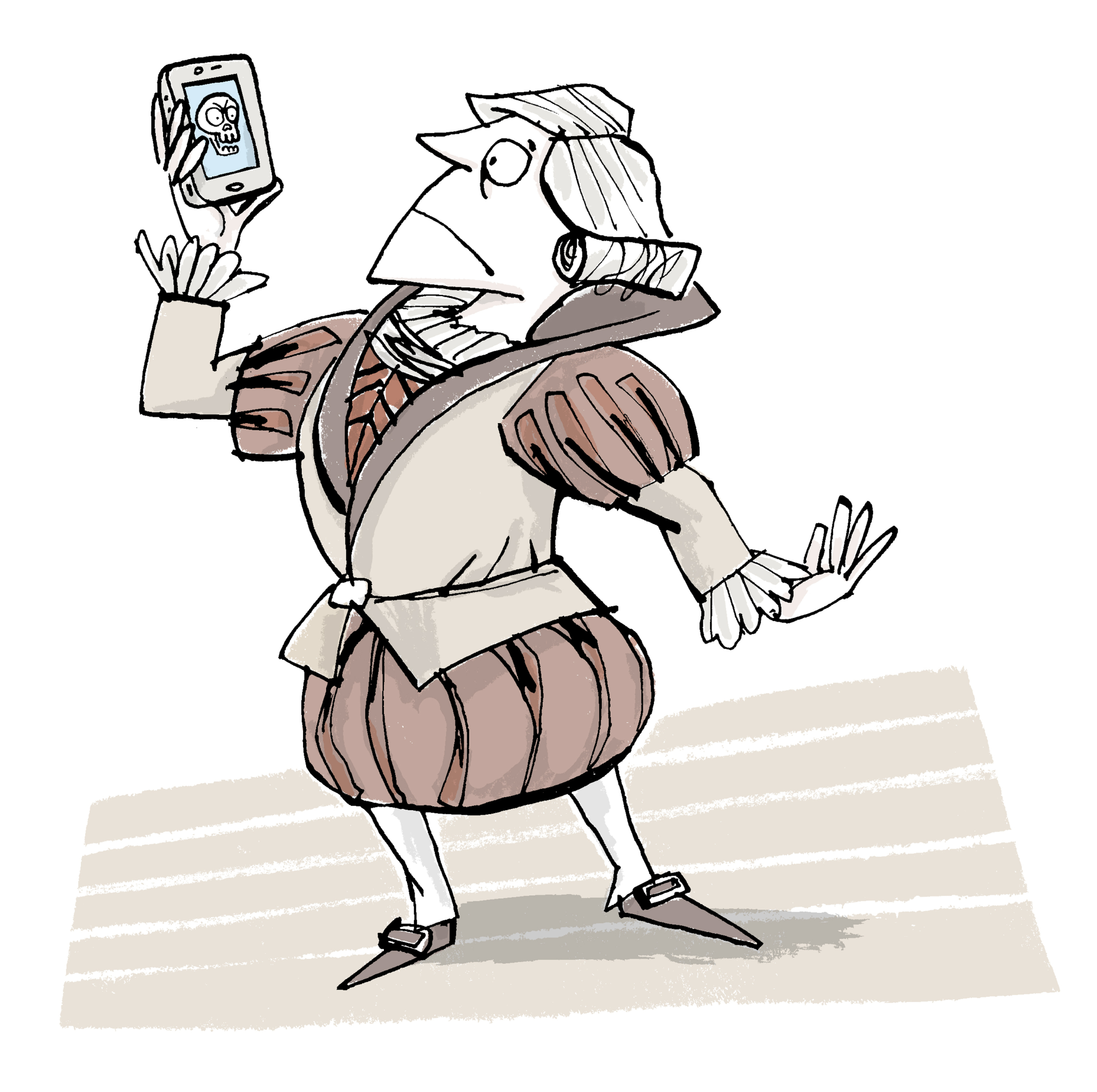 Shakespeare on the Phone