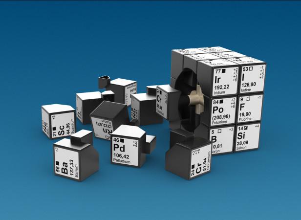 Elements Cube