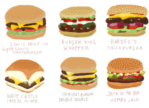 12 Burgers