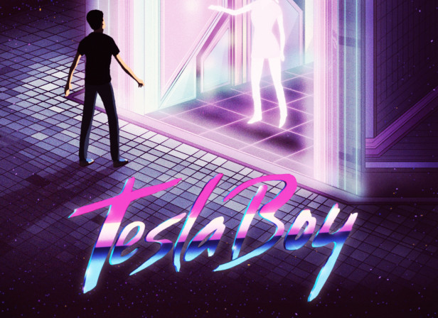 Tesla Boy EP Cover