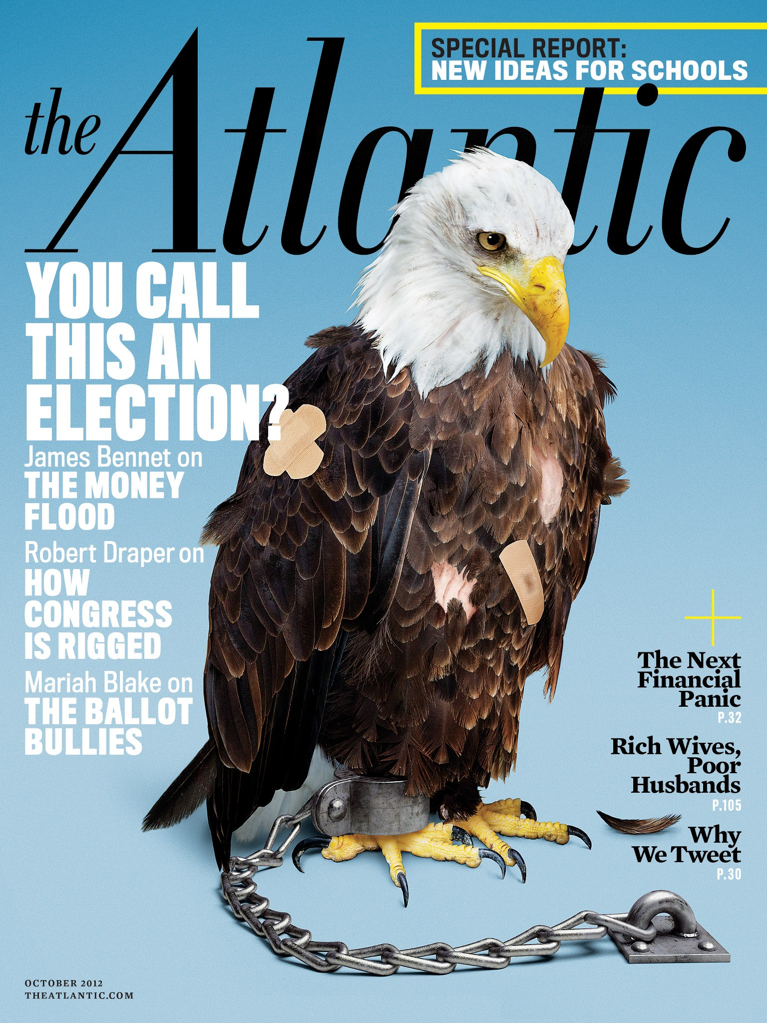 The Atlantic Eagle Cover Shot