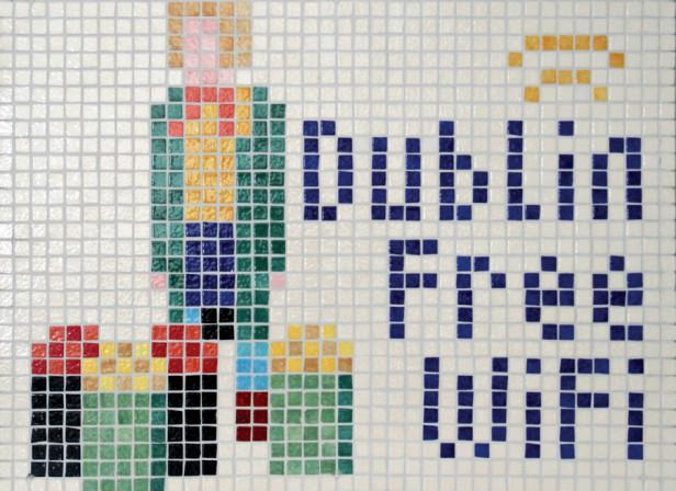 Dublin Free Wifi Mosaic 2
