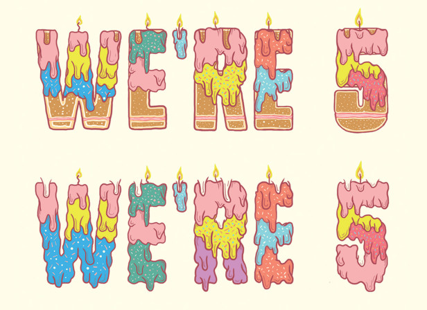 34-We're-5-type-design-Scribbler-cards_typography_cake_hand-drawn-type.jpg