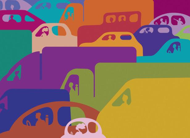 Too Much Traffic / Car Magazine