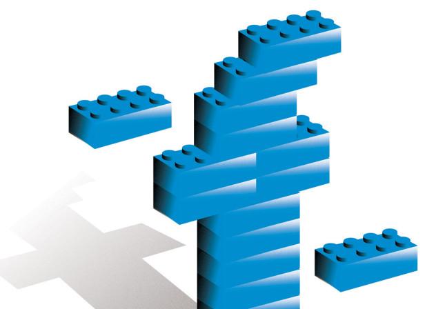 Facebook Lego / ShopSmart Magazine.
