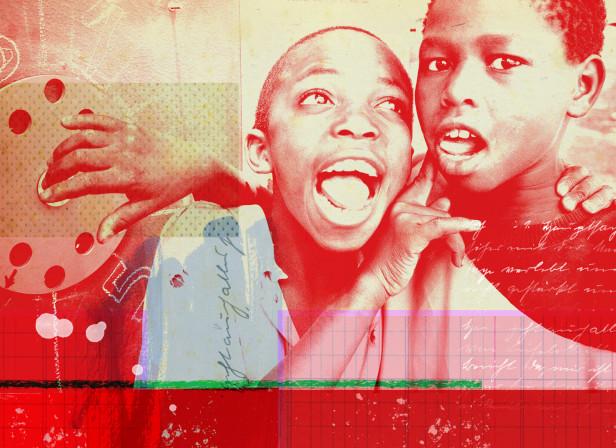 African Street Kids Comic Relief 3