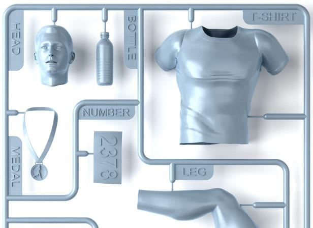 Airfix Marathon Man Kit  / Runner's World