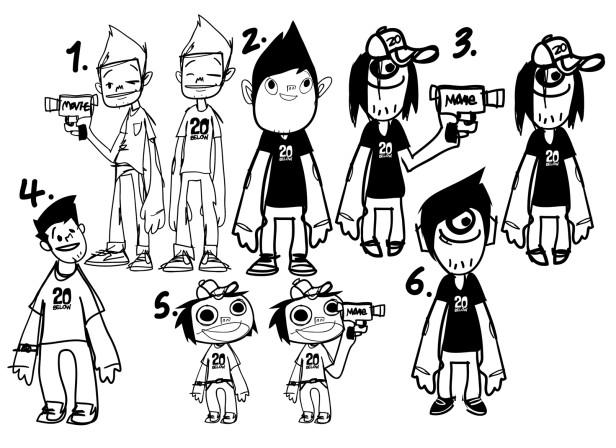 20 Below Character Sheet