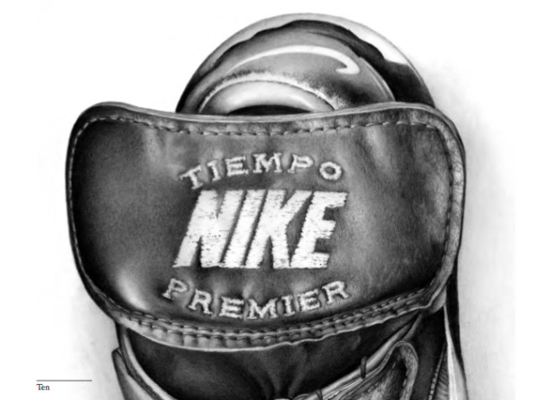 Nike Tiempo Premier Football Boot Detail