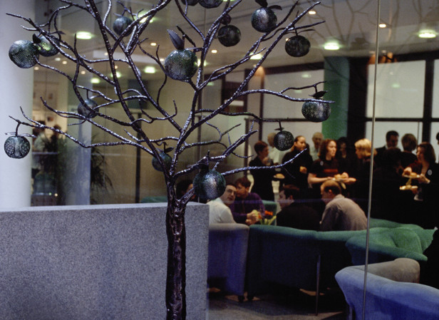 Apple Tree Public Sculpture Leo Burnett Ad Agency London