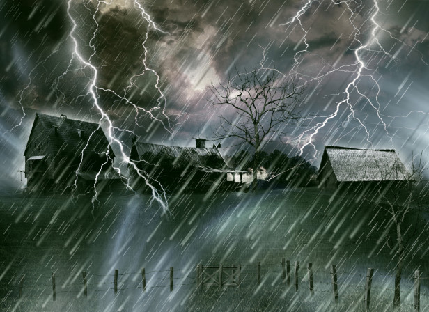 Long Way Home Storm Landscape