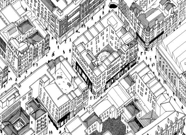 Map of Covent Garden / Christopher Raeburn