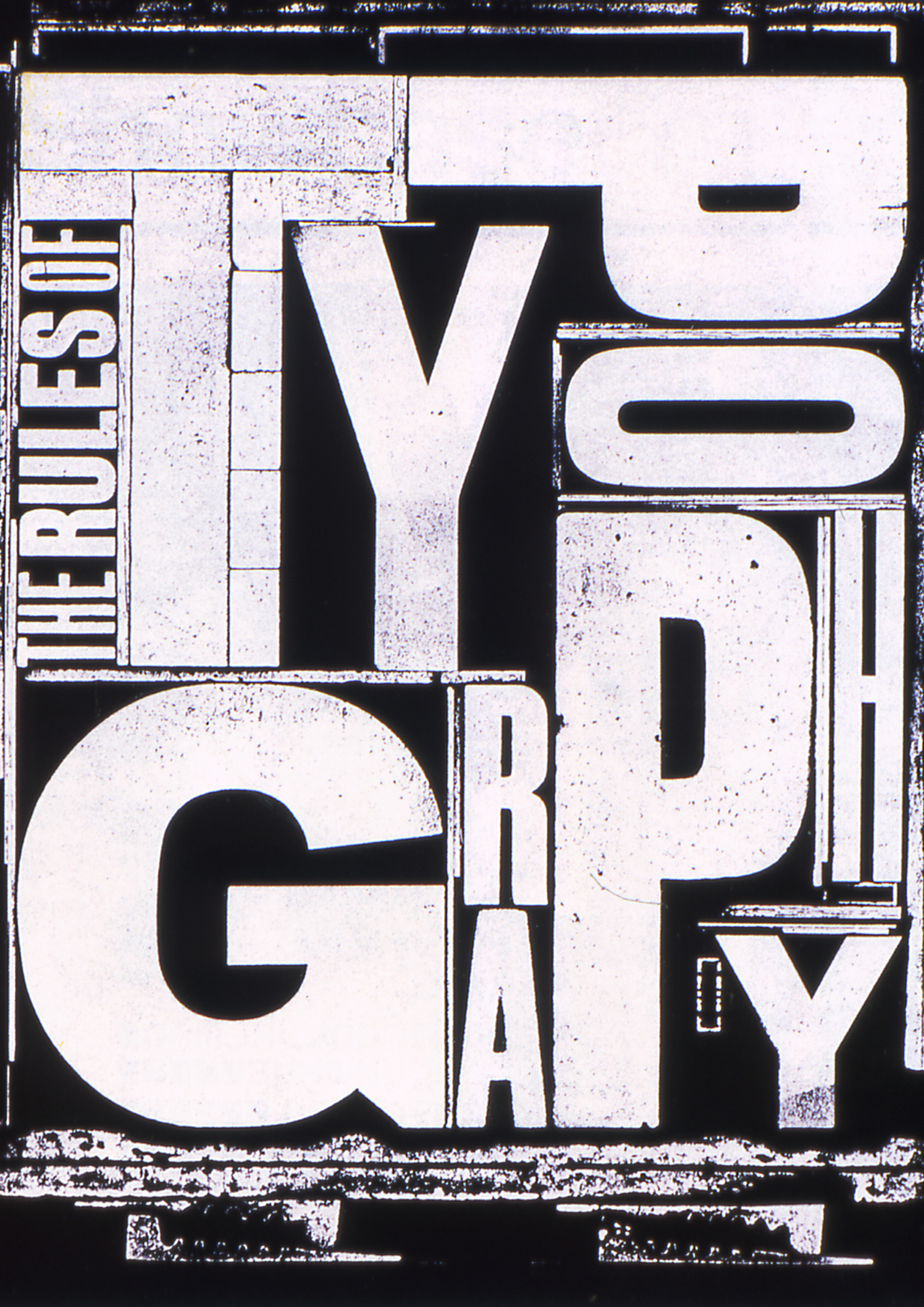 The Rules Of Typography