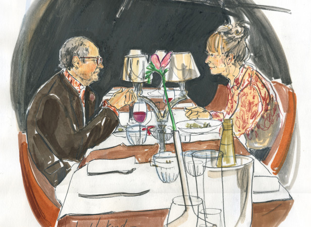 Jim Broadbent and Lindsay Duncan Behind The Scenes Film Shoot / Le Weekend
