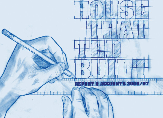 The House That Ted Built Blueprint