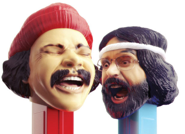 Cheech & Chong Pez Dispenser / Playboy Magazine