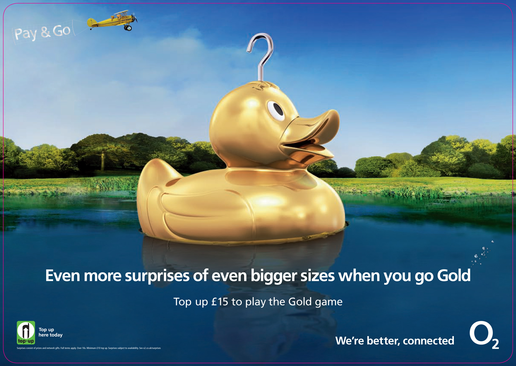O2 / Golden Duck