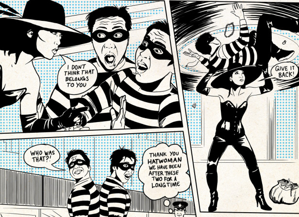 Hatwoman Robbers