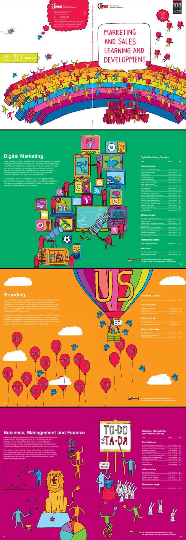 Tim Ellis / The Chartered Institute of Marketing Brochure 2011/12