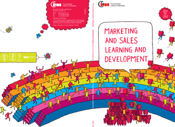 Tim Ellis / The Chartered Institute of Marketing Brochure 2011/12
