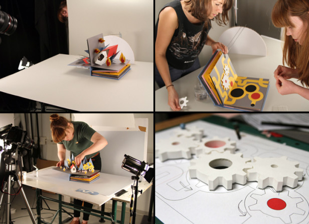 Helen Friel & Friends / Revolution Pop Up Animation
