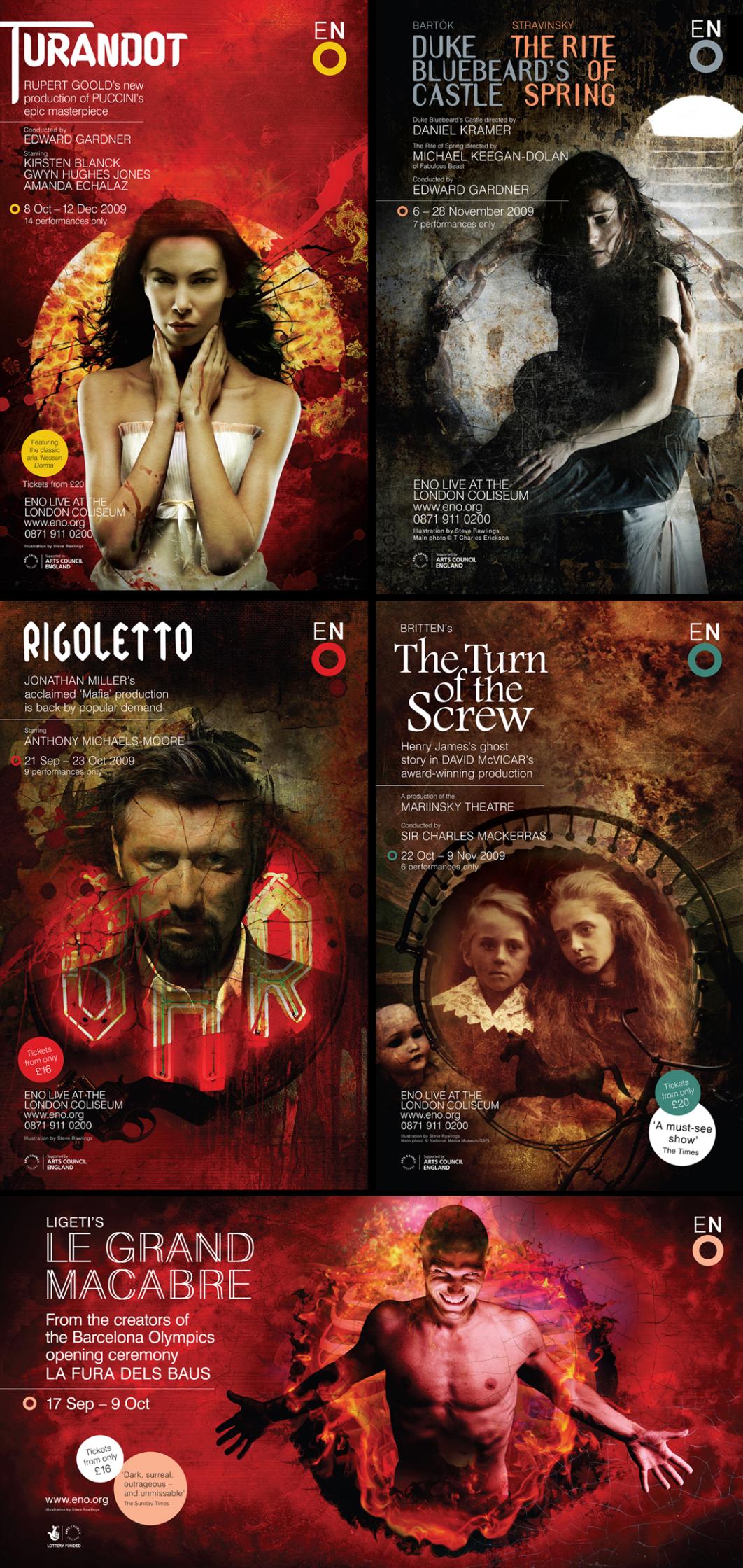 Steve Rawlings / English National Opera Autumn Season
