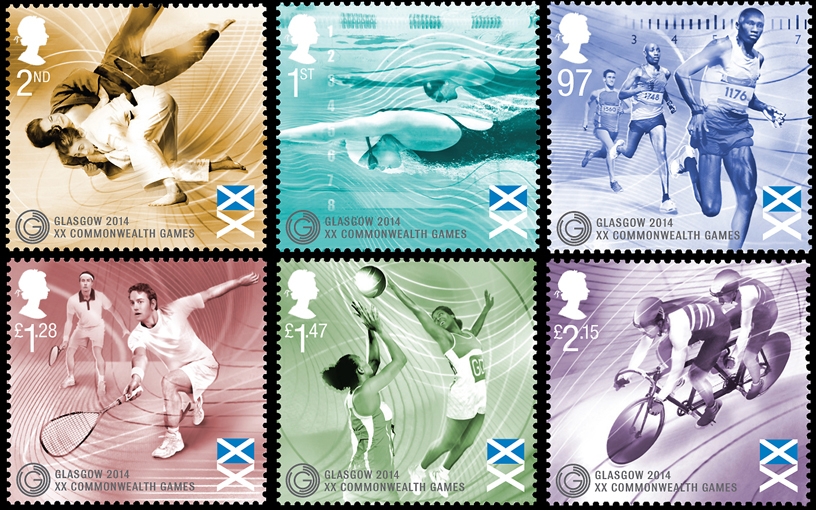 Nanette Hoogslag / The Royal Mail / Commonwealth Games 2014