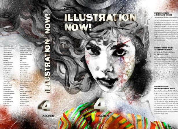 Gabriel Moreno / Taschen Illustration Now! Cover