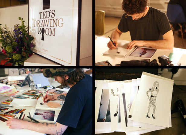 Harry Malt + Serge Seidlitz / Ted Baker 'Ted's Drawing Room' RESULTS