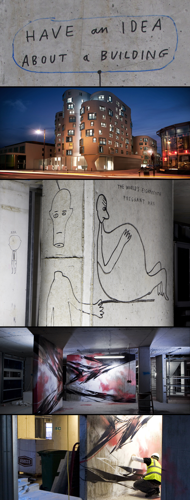 Paul Davis + James Carey (O.Two) / The New Clapham Hidden Art Project