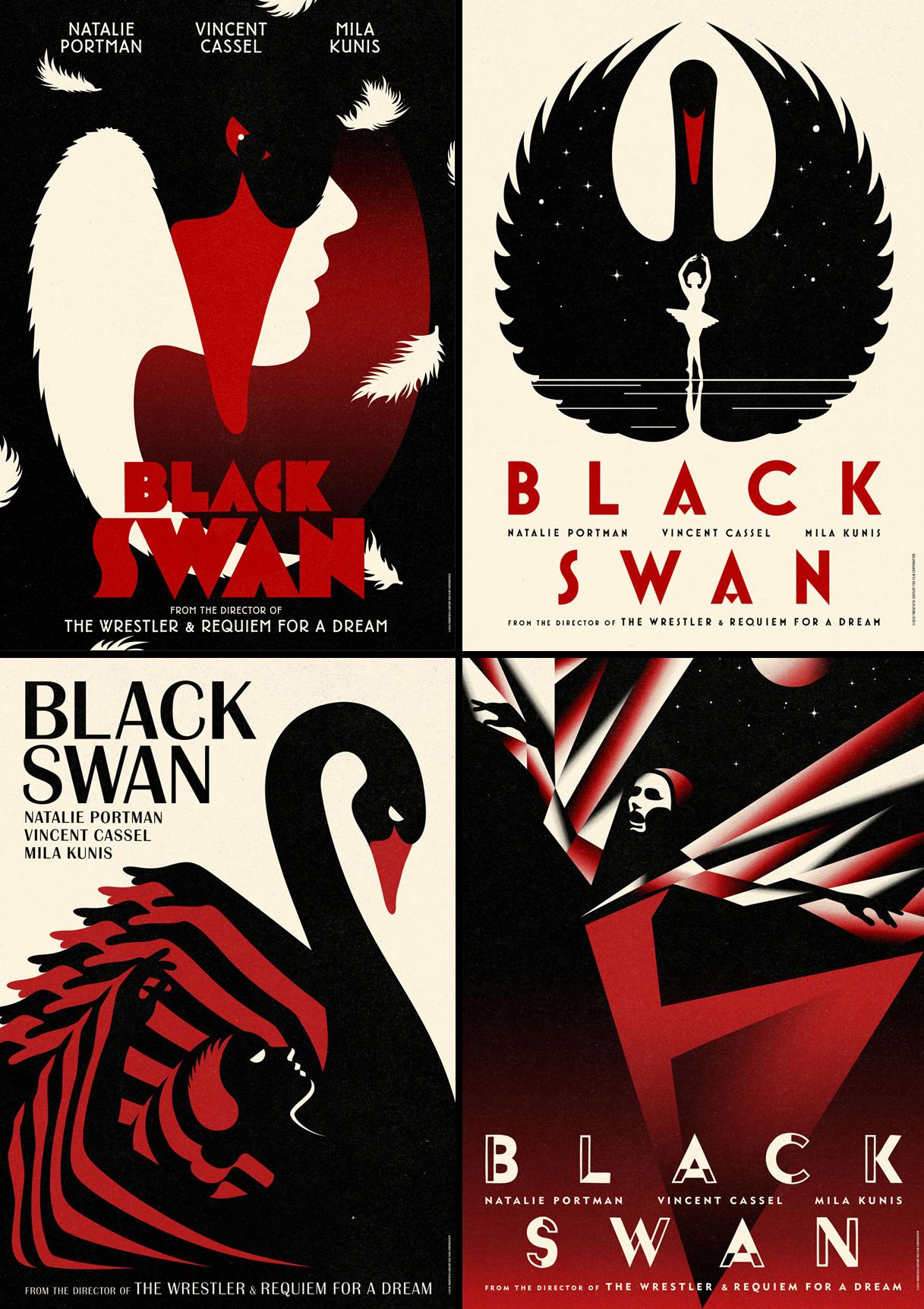 La Boca / International Posters For Darren Aronofsky's Black Swan Film