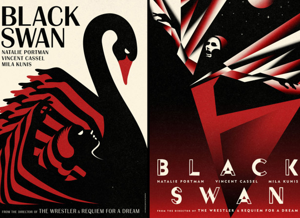 La Boca / International Posters For Darren Aronofsky's Black Swan Film