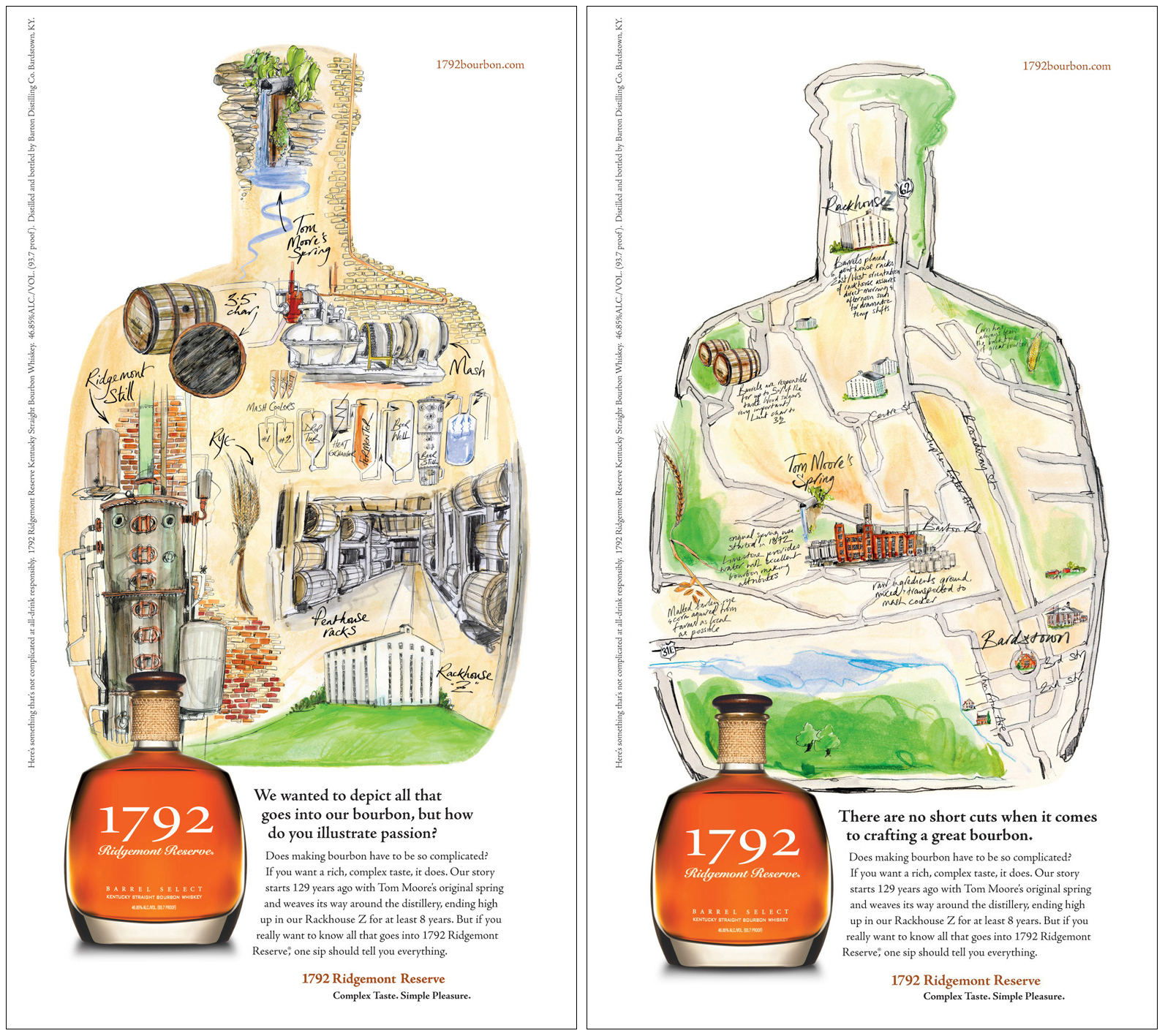 Jane Webster / 1792 Bourbon Whiskey Posters