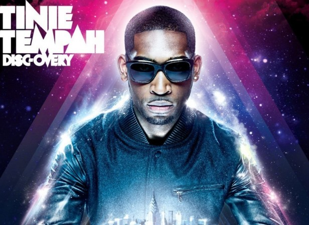 The Studio / Tinie Tempah 'Disc-Overy' Album Cover