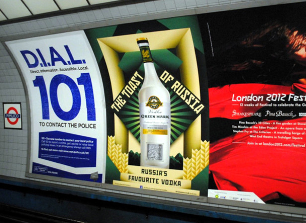 La Boca / Green Mark Vodka The Toast Of Russia Posters