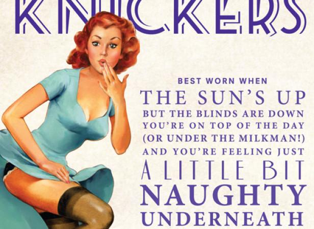 Vince McIndoe / Mary's Bottom Line 'Kinky Knickers' Packaging