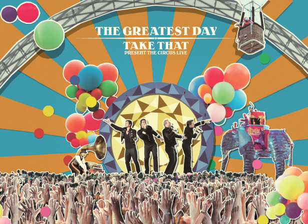 James Taylor / Take That's 'The Greatest Day' Album