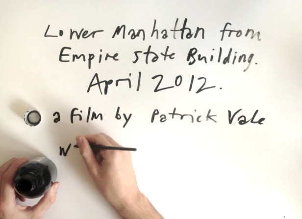 Patrick Vale / Empire State Of Pen Stop Motion Drawing