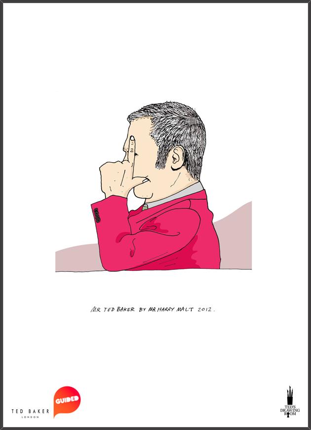 Harry Malt + Serge Seidlitz / Ted Baker 'Ted's Drawing Room' Live Event