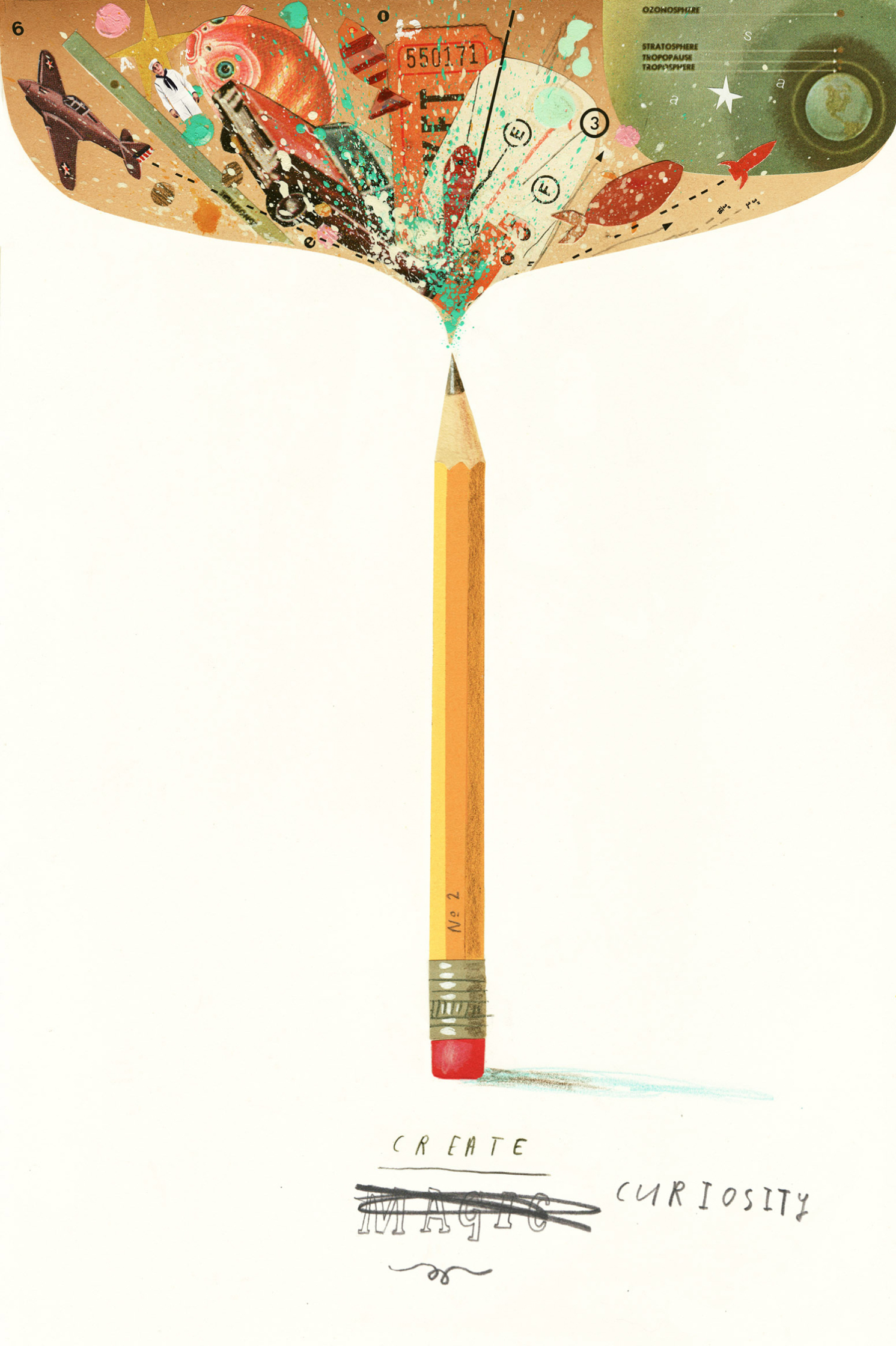 New Artist / Oliver Jeffers Joins Début Art