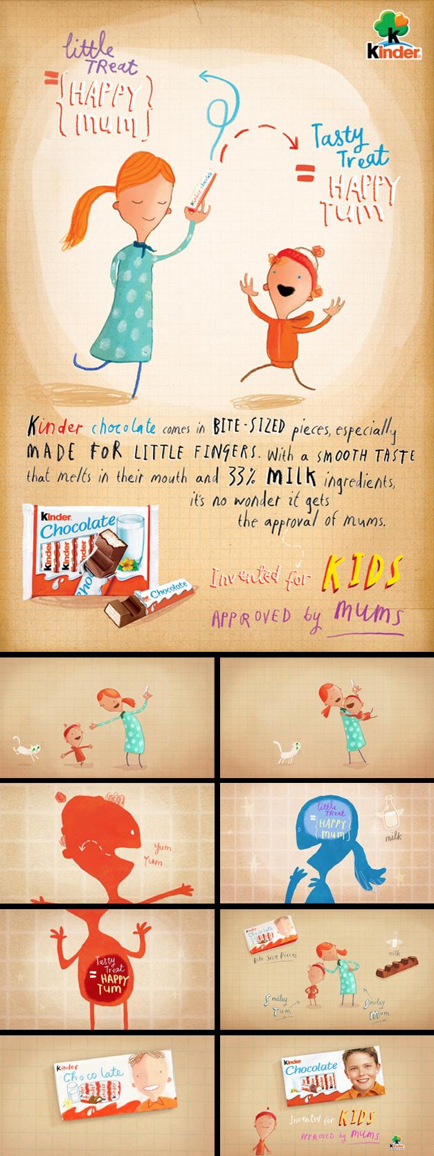 Oliver Jeffers / Kinder Chocolate