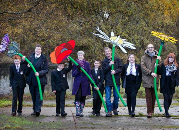 Celyn / Kew Gardens Grow Wild Campaign