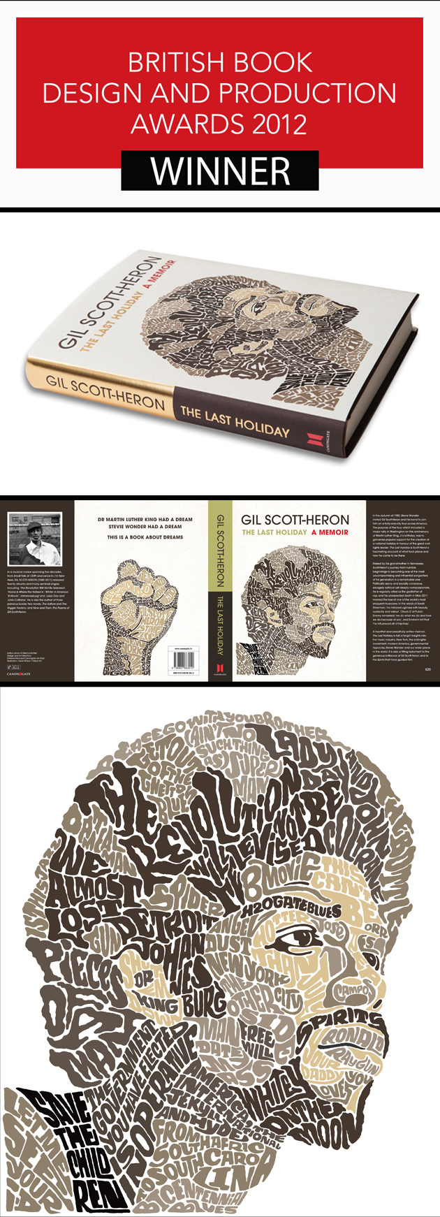 Oscar Wilson and Canongate Books Win Best Jacket Design Award