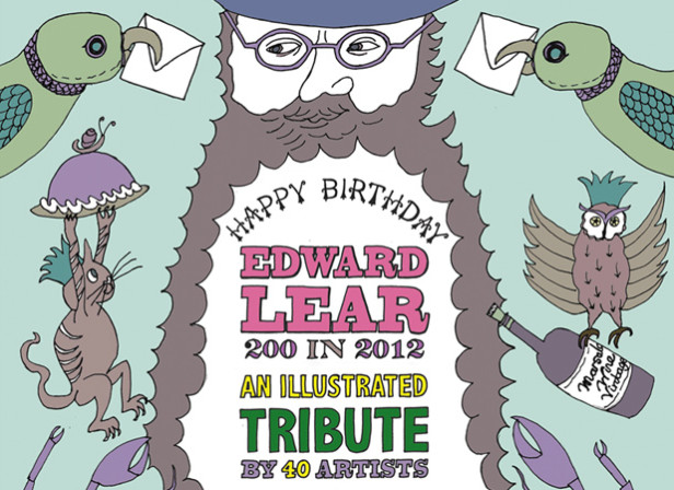 'Happy Birthday Edward Lear' at the Poetry Café 7th May - 8th June 2012