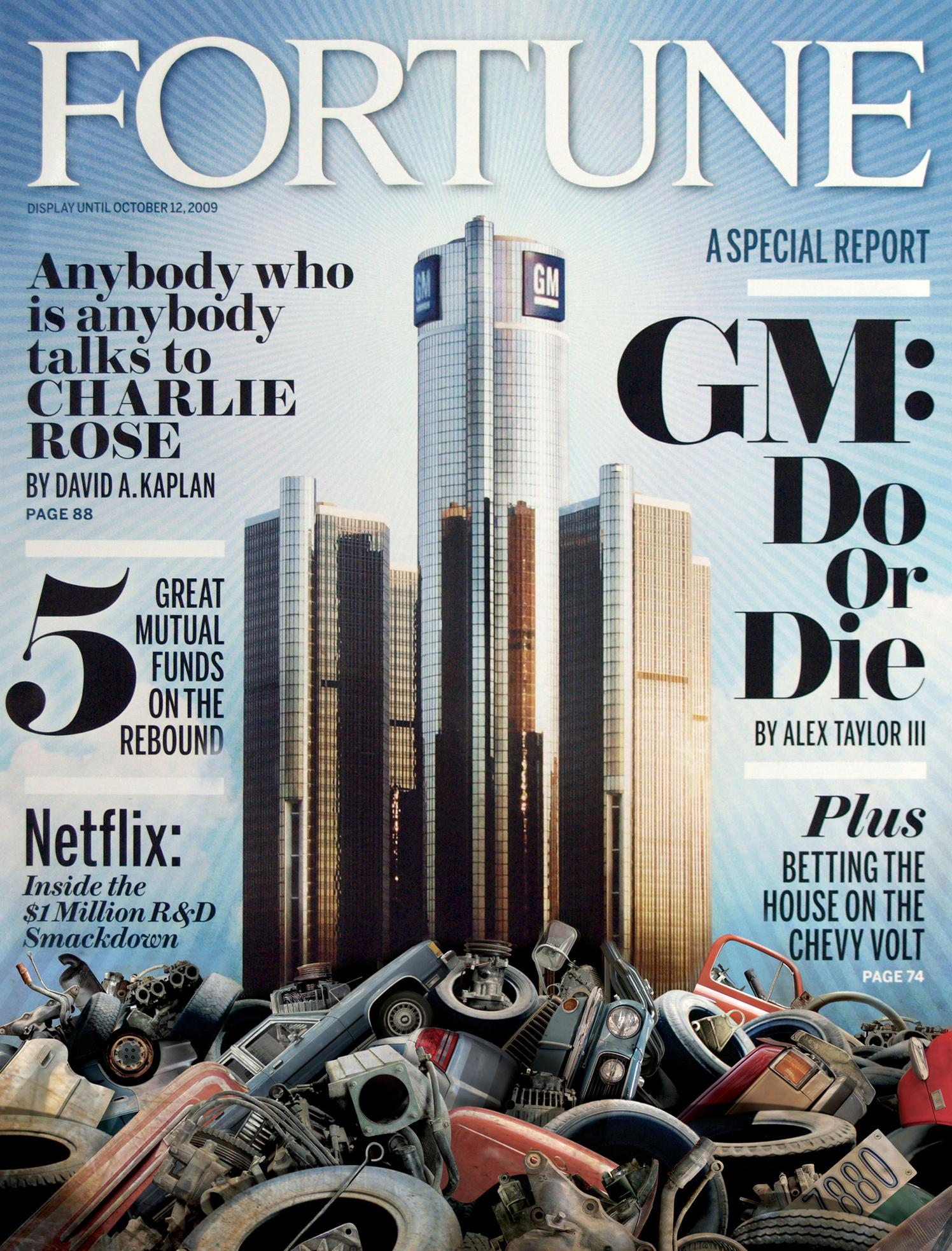 Fortune Magazine / October 09